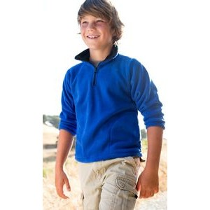 Youth Saratoga Pullover Fleece Shirt