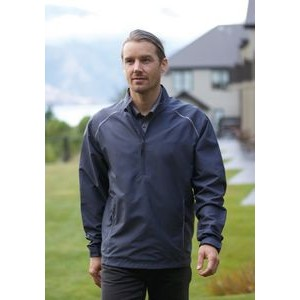 Half Zip Vapor Windbreaker Jacket w/Reflective Trim