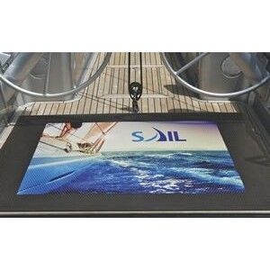 6'x8' SuperScrape™ Impressions Indoor/ Outdoor Logo Mat