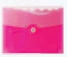 Custom Translucent Pink Letter Size Expanding File