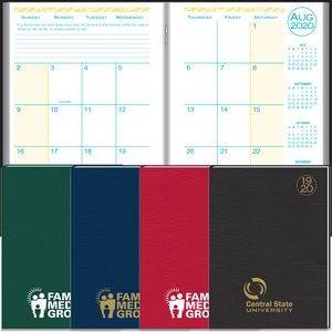 2020 Academic Desk Monthly Planner w/ Morocco Cover