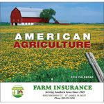 Custom 2018 American Agriculture Stapled Wall Calendar