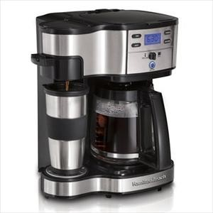 Hamilton Beach The Scoop 2-Way Brewing Coffeemaker