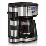 Custom Hamilton Beach The Scoop 2-Way Brewing Coffeemaker