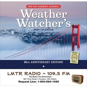 2020 The Old Farmer's Almanac Weather Watcher's - Stapled