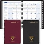 Custom 2018 Ruled Monthly Format Tabbed Telephone/ Address - Wired to Cover Planner