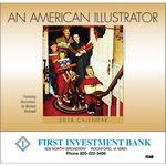 Custom An American Illustrator Stapled Calendar