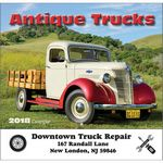 Custom 2018 Antique Trucks Stapled Wall Calendar
