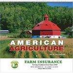 Custom 2019 American Agriculture Wall Calendar - Spiral