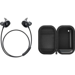 Bose SoundSport Wireless - Black & SoundSport Charging Case Bundle