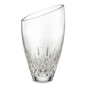 Custom Waterford Lismore Essence Crystal Angled Round Vase (9
