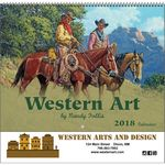 Custom 2018 Western Spiral Wall Calendar