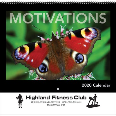 2020 Motivations Wall Calendar - Spiral