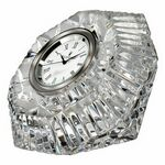 Custom Waterford Crystal Classic Lismore Diamond Clock