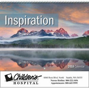 2018 Inspiration Spiral Wall Calendar