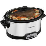 Custom Hamilton Beach Stay or Go Programmable 7Qt Slow Cooker