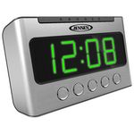 Custom Jensen AM/FM Dual Alarm Clock Radio with Wave Sensor