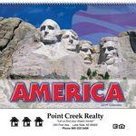 Custom 2018 America Spiral Wall Calendar