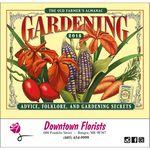 Custom 2018 The Old Farmer's Almanac Gardening Stapled Calendar