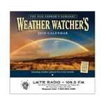 Custom The Old Farmer's Almanac Weather Watchers Stapled Calendar