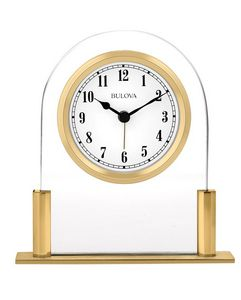 Bulova Colburn Tabletop Clock