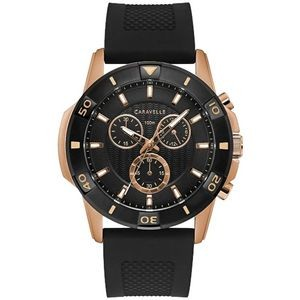 Caravelle Men's Strap from the Aqualuxx Collection- Chronograph