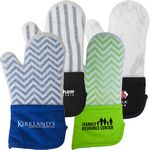 Custom Frosted Silicone Oven Mitt
