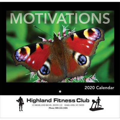 2020 Motivations Wall Calendar - Stapled