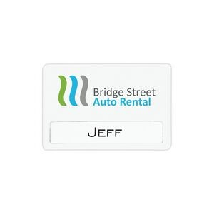 "Atlanta Economy Reusable Name Badge (3""x2"")"
