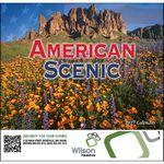 Custom American Scenic Stapled Monthly Calendar