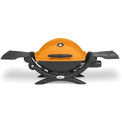 Weber Q1200 Portable LP Grill - Orange