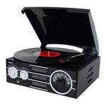 Custom Jensen 3-Speed Turntable with AM/FM Stereo Radio