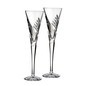 "Waterford Crystal Wishes ""Beginnings"" Champagne Flutes (Per Pair)"