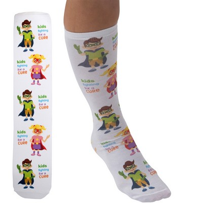 "Full Color Unisex 18"" Tube Promo Socks"