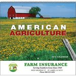 Custom 2018 American Agriculture Spiral Wall Calendar
