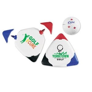 Dri Mark Triple Golf Ball Marker