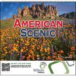 Custom American Scenic Spiral Monthly Calendar