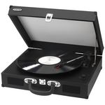 Custom Jensen 3-Speed Stereo Turntable with Built In Speakers, MP3 Encoding System