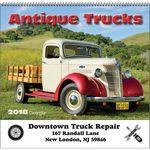 Custom 2018 Antique Trucks Spiral Wall Calendar
