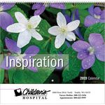 Custom 2019 lnspiration Wall Calendar - Spiral