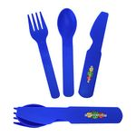 Custom 3-in-1 Plastic Flatware