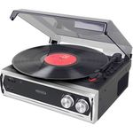 Custom Jensen 3-Speed Stereo Turntable with Built In Speaker and Speeed Adjustment