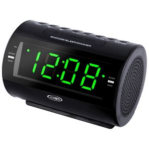 jensen am fm dual alarm clock radio with nature sounds jcr210 brilliant promotional products. Black Bedroom Furniture Sets. Home Design Ideas