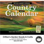 Custom The Old Farmer's Almanac Country Stapled Calendar