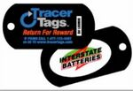 Custom Plastic Dog Tag With Global Lost & Found Retrieval Service