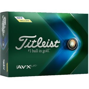 Titleist AVX - Yellow (FACTORY DIRECT)