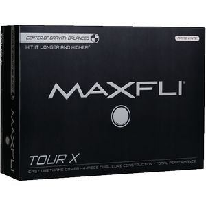 Maxfli Tour X - Matte White (IN HOUSE)