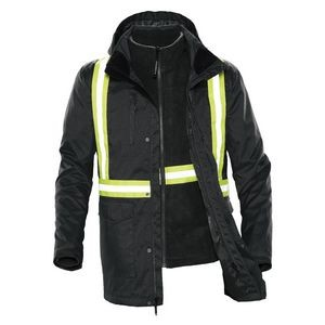 Unisex Vortex HD 3-In-1 Reflective System Parka