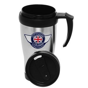 14 Oz. Double Wall Stainless Steel Travel Mugs