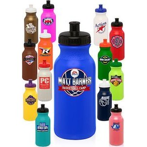 20 Oz. Custom Plastic Water Bottles